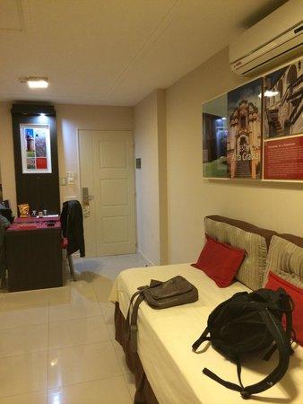 Hotel Sol de Piedra: Cama extra (hab 305)