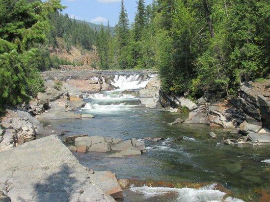 Yaak Rver: Yaak River Falls