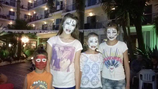 H.TOP Planamar: Дети веселились, как могли