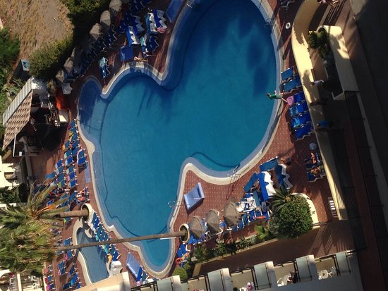 Hotel Puente Real: Pool view from our room