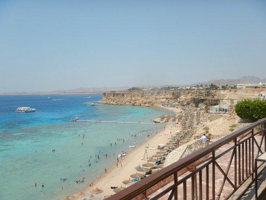 Jaz Fanara Resort & Residence : Widok na plażę