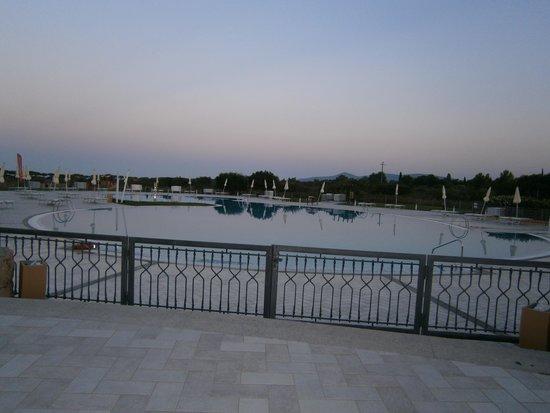 Club Marmara Sardegna : une des trois piscines