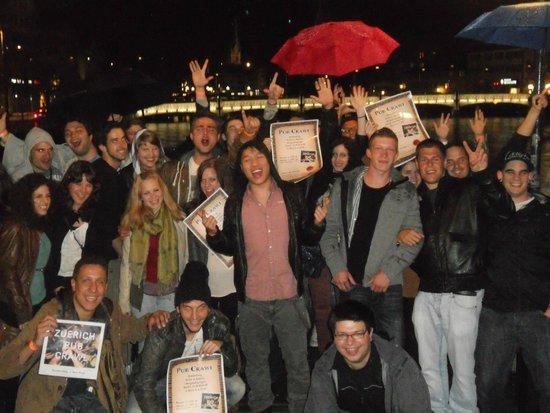 Zurich Pub Crawl