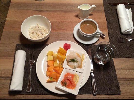 CERVO Zermatt: Breakfast