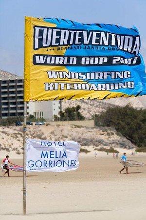 Meliá Gorriones Fuerteventura: Beach