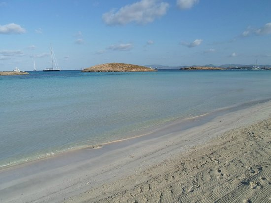 Playa de Ses Illetes: Gli isolotti