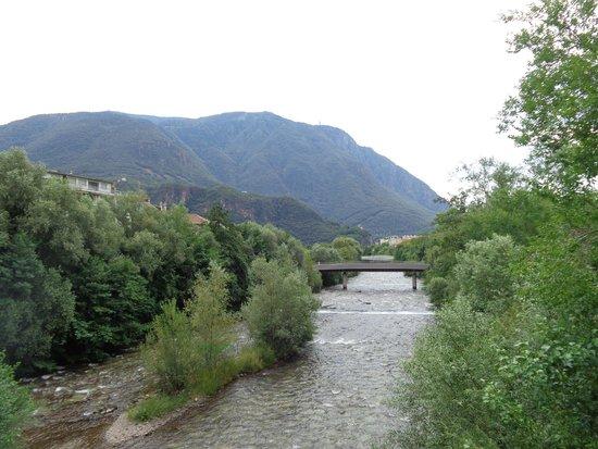 Bozen: il fiume di Bolzano