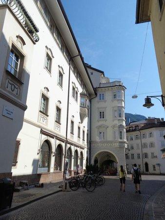 Bozen: architettura mitteleuropea