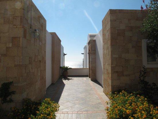 Atrium Prestige Thalasso Spa Resort and Villas: Entrance to our room - Room 5139