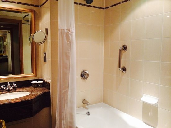 Hilton Glasgow: Room 1515 - the bathroom was great.
