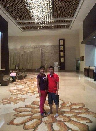 Al Ghurair Hotel: love the lobby