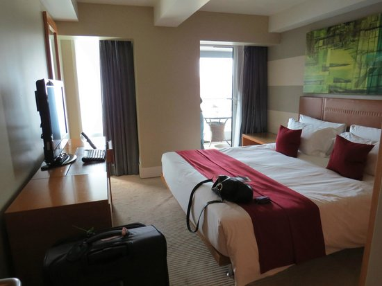 Plaza on the River: The main bedroom