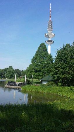 Radisson Blu Hotel, Hamburg: Planten & Bloomen und der Telemichel