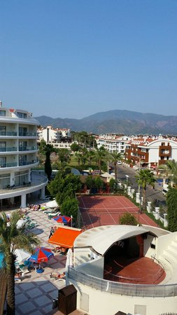 Grand Pasa Hotel: View from room 442