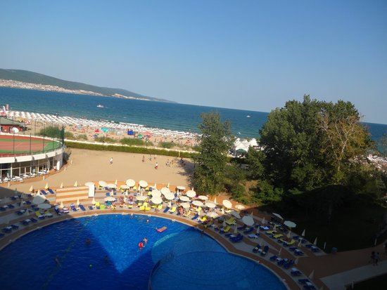 Hotel Riu Helios : View from the a Sea front room