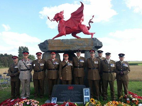 In The Footsteps Battlefield Tours : Welsh Memorial in Flanders