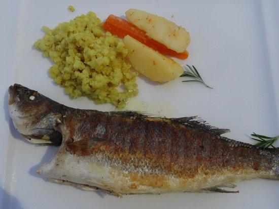 Melas Lara Hotel : Fish restaurant