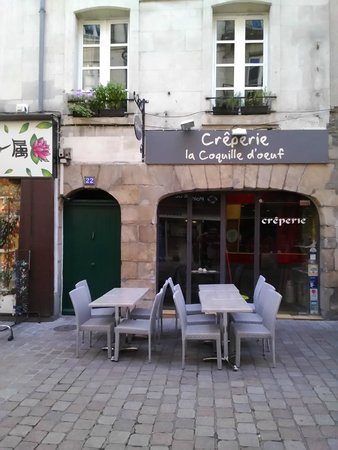 La coquille d 39 oeuf nantes restaurant reviews phone - Chaise coquille d oeuf ...