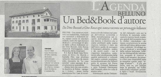 """Casa Novecento: Estratto dal """"Gazzettino"""" del 24-08-2014"""