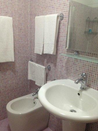 Hotel Panizza : Baño
