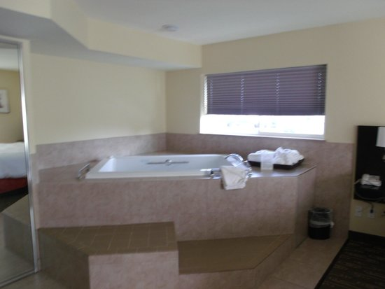 Best Western Plus Navigator Inn & Suites: GIGANTIC BUBBLE TUB WAS REALLY A PLUS