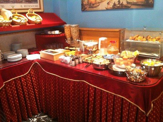 Hotel Ariston: Disappointing breakfast