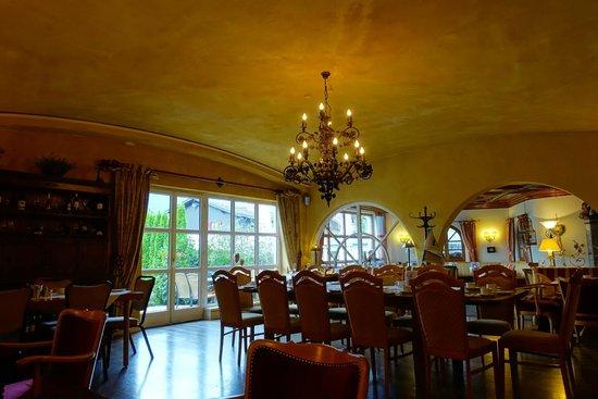 Hotel Garmischer Hof : Breakfast room