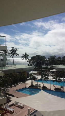 Oceans Resort & Spa Hervey Bay: View from our room