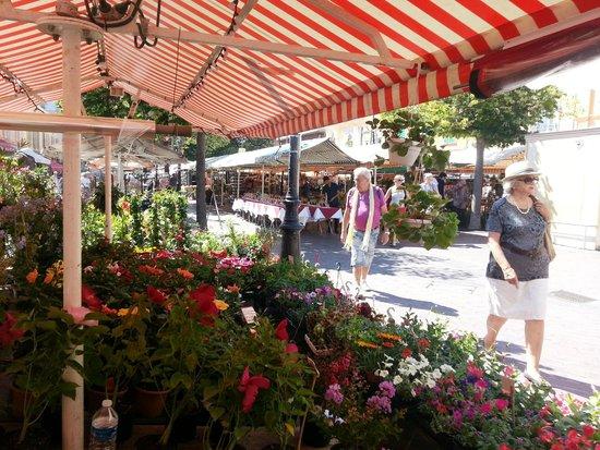 Vieille Ville de Nice : Flower Market
