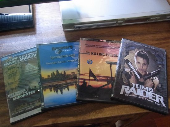 Diamond D'Angkor Boutique: DVDs in the room