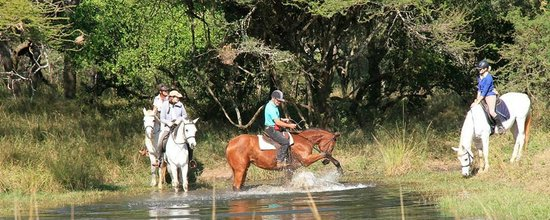 Pakamisa Private Game Reserve: Out rides on the reserve