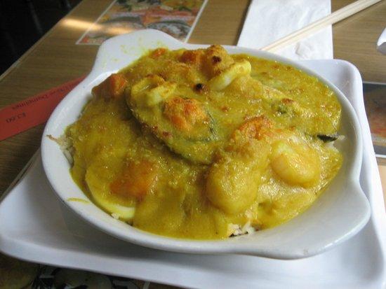 Cafe de Hong Kong: Macanese Seafood Curry Rice