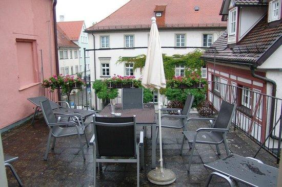 Alte Post Hotel-Gasthof: Terrazzo