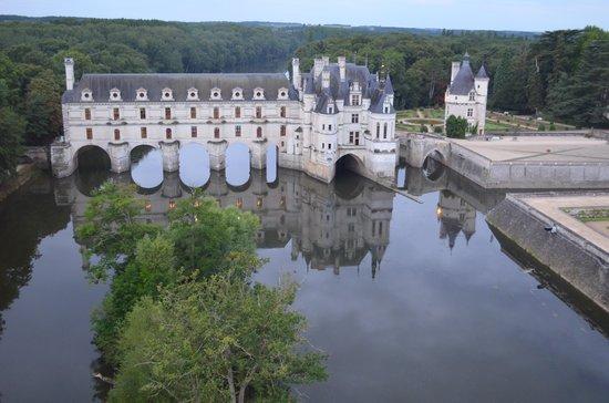 Aerocom Montgolfiere: Survol du château de Chenonceaux