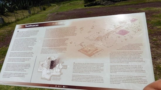Basilica Lady of Guadalupe and Teotihuacan: Mappa sito