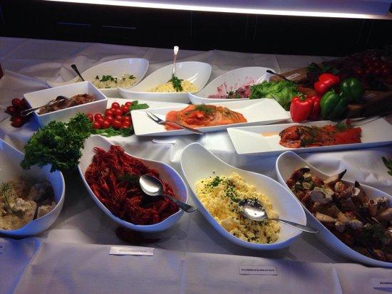 Restaurant Nansen: The buffet