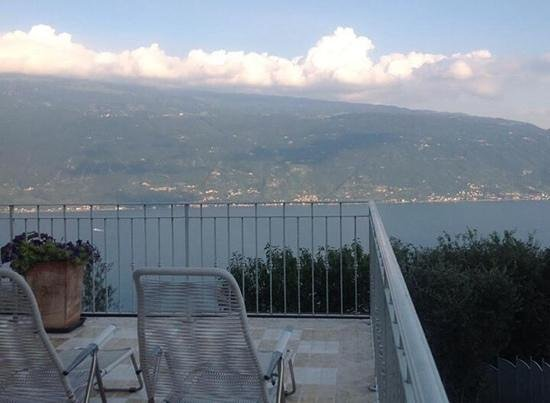 Villa Muslone : amazing view from communal terrace