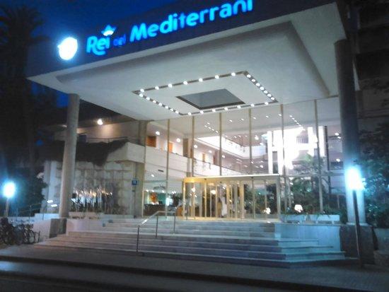 Rei del Mediterrani Palace: entrée de l'hôtel