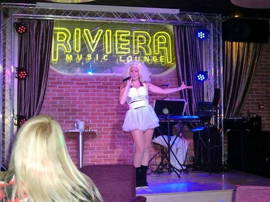 Riviera Beachotel: Madonna, lounge music bar