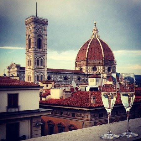 Brilliant Views Picture Of Caffe La Terrazza Florence