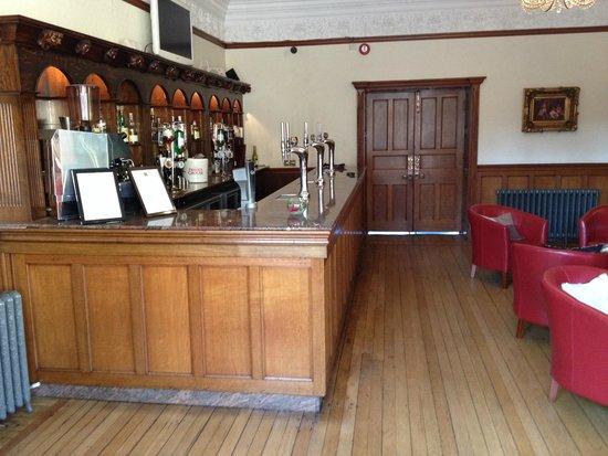Dalston Hall Hotel: the bar