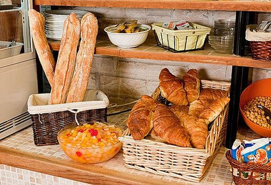 Hotel Paris Legendre: Breakfast Details