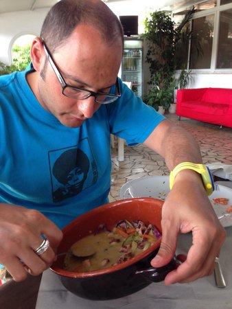 La Taverna del Borgo : Ottima zuppetta di polpo in latte di cocco
