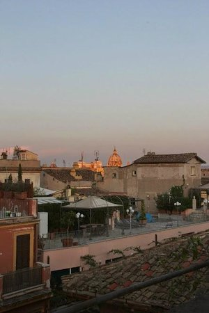 Hotel Indigo Rome - St. George: Rooftop bar