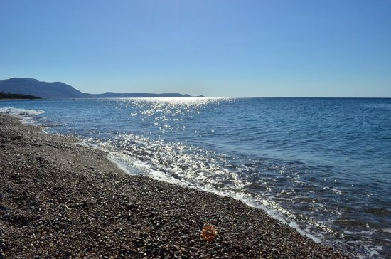 Princess Andriana Resort & Spa : Rhodes best beach