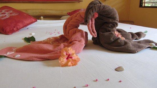Samara Palm Lodge: Zimmerdeko...: nett.....!