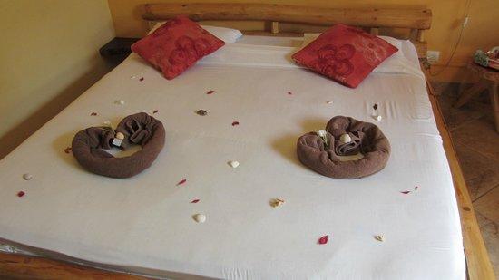 Samara Palm Lodge: Und nochmal Zimmerdeko: auch nett...!