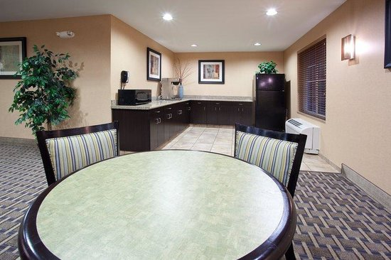 """Candlewood Suites Loveland: The """"Family Room"""" is available to rent for private functions."""