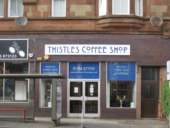 Thistles Coffee Shop & Catering: Storefront