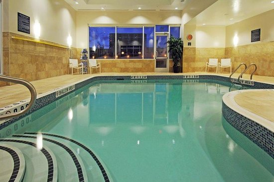 Indoor Heated Salt Water Swimming Pool Picture Of Holiday Inn Express Toronto Markham